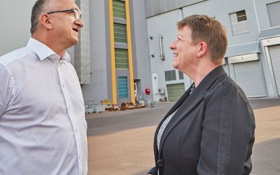 Besuch von Ministerin Prof. Claudia Dalbert